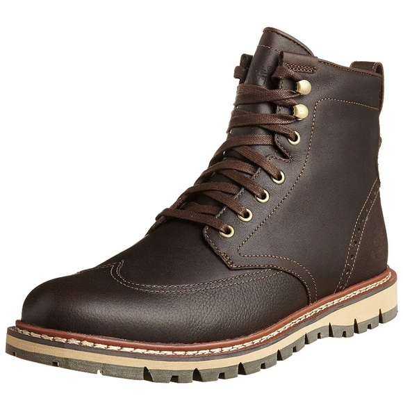 a75440a5d92 Timberland Men's Earth keepers Wingtip Boots